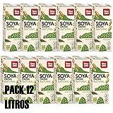 LIMA - Bebida sustitutiva de la leche original bIOLÓGICa - ECO-Pack 12 unidades de 1 litro (Soja)