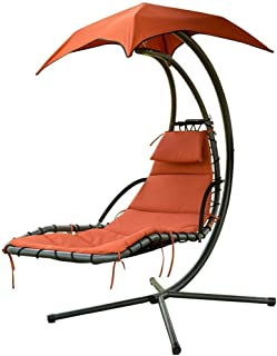 Best hanging chaise lounge chair w canopy Reviews