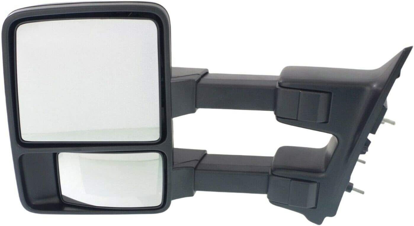 SCKJ Tow Mirror Factory outlet Compatible with Fold Side SuperDuty overseas Manual Left