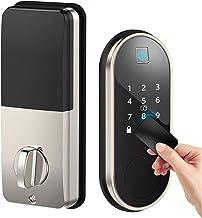 Smart Lock with Deadbolt, Keyless Entry Door Locks with Deadbolts, Smart Doors Locks with Electric Deadbolt Touch Screen K...