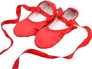 Schuhe AISHANGYIDE Mädchen Satin Ballettschuhe Tanzschuhe