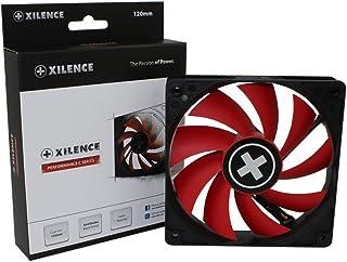 Xilence Performance C Série | Ventilateur de Boîtier | XF039 | 3Pin | 120 mm | Rouge/Noir