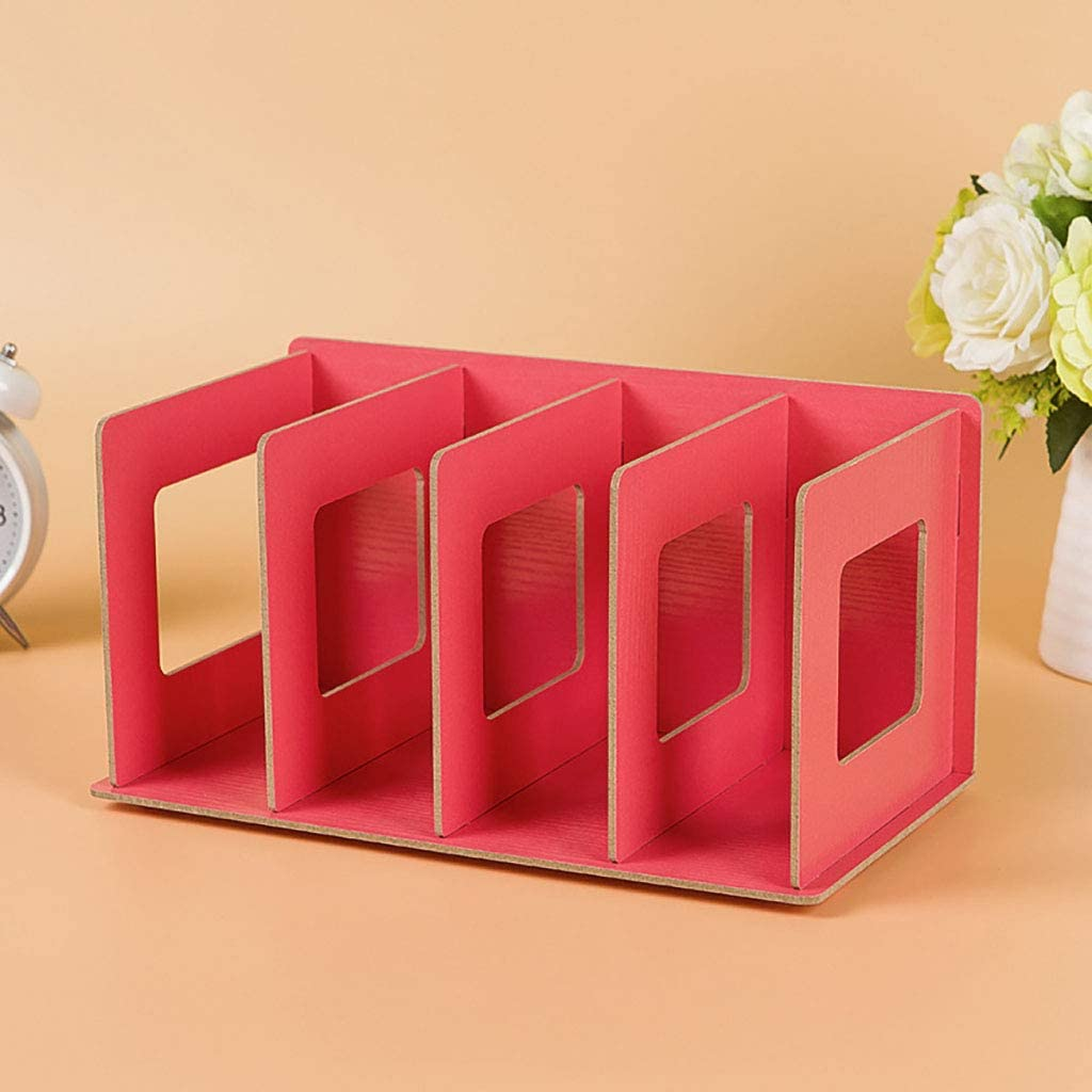 ZXM Special Campaign Ring Binders File Holder Organiz Latest item Document Multi-Layer Wooden