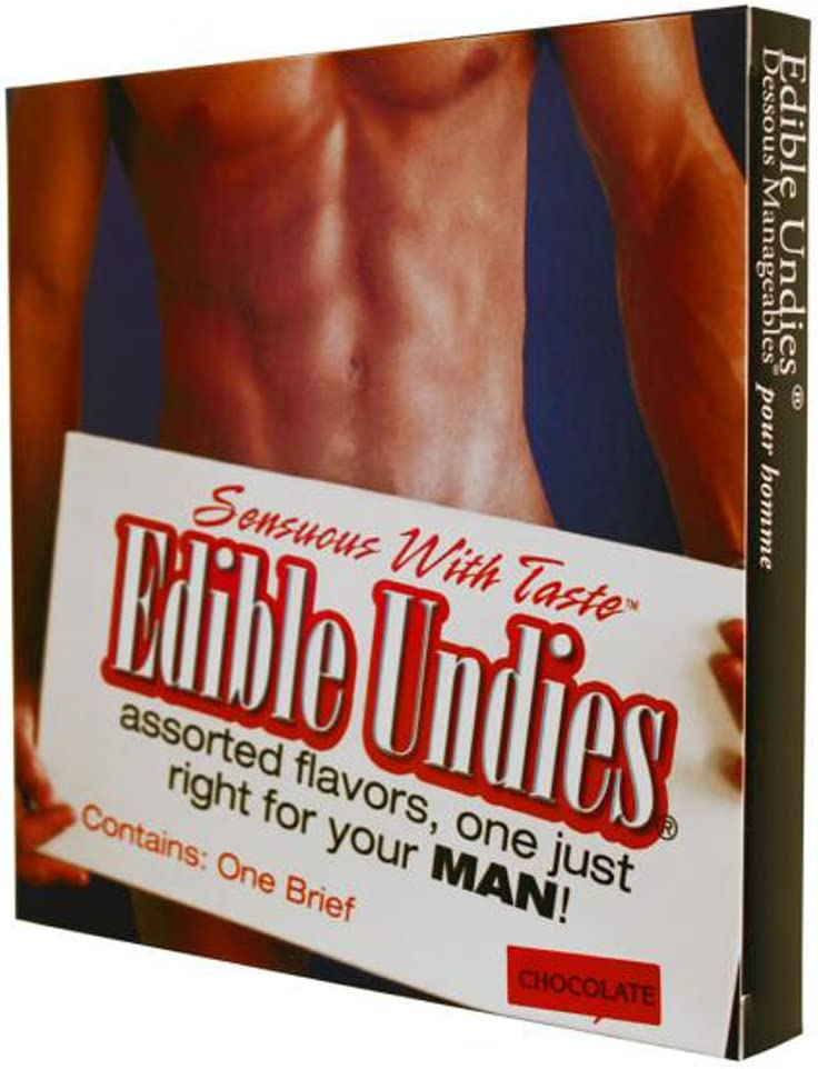 Kingman Sensuous with Challenge Super popular specialty store the lowest price Taste Edible Undies Male Chocolate for