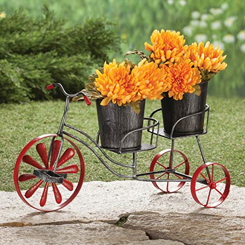 Metal Bicycle Planter by Fox River CreationsTM