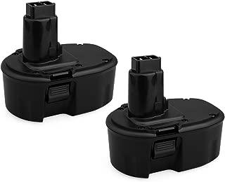 Biswaye 2 Pack 14.4V NiCD Battery for Dewalt DC DW XRP Series 14.4-Volt Battery DC9091 DW9091 DW9094 DW9094 DC9091 DE9038 DE9091 DE9092