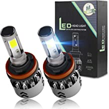 H11 LED Headlight Bulbs Conversion Kit 6000K Cool White Car Headlight Bulb 7600LM Extremely Bright Waterproof for High Beam or Low Beam (H8, H9)