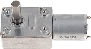 FLAMEER DC Motorino Elettrico Riduttore Ruota Riduzione Velocit/à 12V 280RPM
