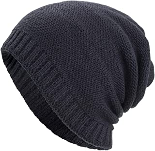 Clearance Forthery Beanie Cap Winter Knit Warm Hat Ski Baggy Slouchy Beanie Skull Hat