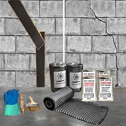 50 ft-Carbon Fiber-Basement Wall Crack Repair Kit