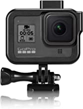 YSTFLY Vlog Aluminum Alloy Case Housing Shell Case CNC Protective Cage for GoPro Hero 8 Black with Cold Shoe Mount (Black)