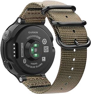 Fintie for Garmin Forerunner 235 Watch Band, Soft Nylon Sport Straps Replacement Watch Bands for Garmin Forerunner 235/220...