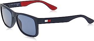 Tommy Hilfiger Herren TH 1556/S Sonnenbrille, Schwarz (BLACKGREY), 56