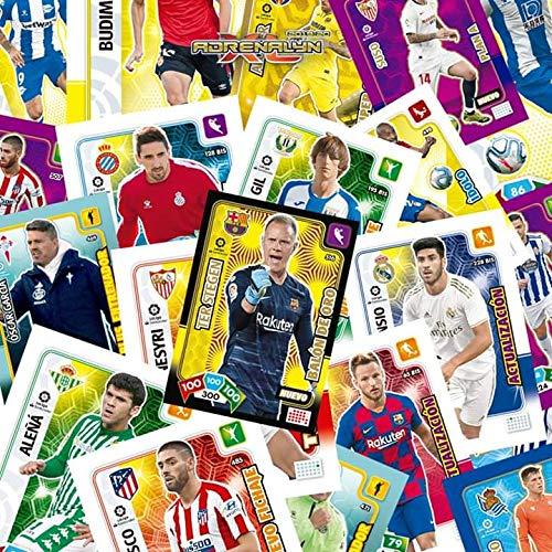 Adrenalyn XL ACTUALIZACION 1 Caja con 50 Sobres (300 cromos) LA Liga 2019 2020 panini