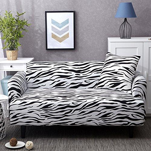 Funda de sofá, tamaño universal, funda de sofá de 1/2/3/4 plazas, elástica, fundas de sofá, fundas de almohada, decoración del hogar para sofás (color: 1255, especificación: AB 185 230 cm)
