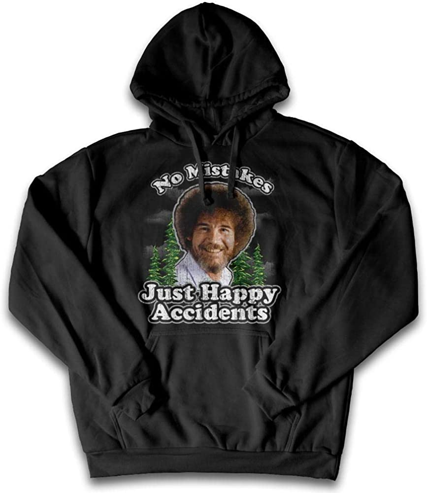 Bob Ross No shopping Mistakes Popularity Just Authentic 100% Graphic Happy Accidents