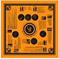 UST Survival Bandana with Heavy Duty Construction, Easy to Read Tips and High Vis Orange for Backpacking, Camping, Hiking, Emergency and Outdoor Survival