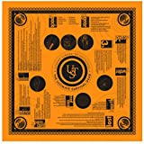 UST Survival Bandana with Heavy Duty Construction, Easy to Read Tips and High Vis Orange for Backpacking,...