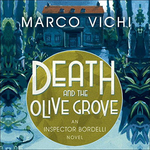Death and the Olive Grove audiobook cover art
