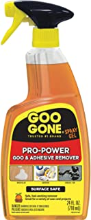 Goo Gone Pro-Power Spray Gel – 24 Ounce – Surface Safe, Great Cleaner, No..