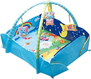 Toyvian Baby Rectangular Activity Gym Mat Newborn Playmat