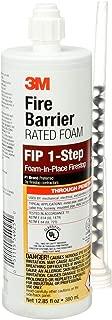 3M Fire Barrier Rated Foam, FIP 1-Step, 12.85 fl oz Cartridge - 98040056453