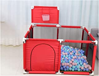Baby Safety Fence  Basketball Playground  Children s playpen Fence  Toddler Fence  Indoor Small Household Square Fence  Color A Crawling mat 200 Balls