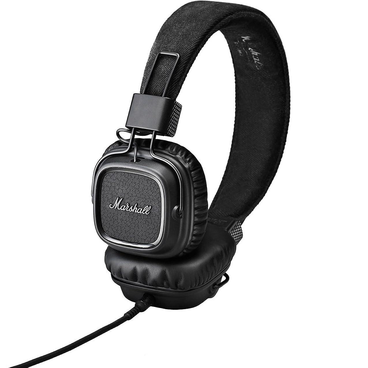 Marshall Major On-Ear Headphones, Pitch Black (4091114) labadigqwgxmd850