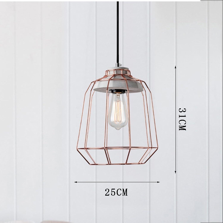 HONY Antique Pendentif CiHommest Lampe Lustre en Bois Vent Industriel Pendentif Lampe Fer Pendaison Lampe 1 Ampoule Classe D'efficacité énergétique A ++,H