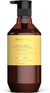 Theorie: Sage - Monoi & Buriti - Champú brillante - Hidratar y brillo - Para grueso y seco - Protege el color y el cabello tratado con queratina (13.5 fl oz)