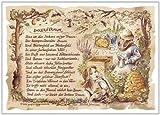 Die Staffelei Geschenk Imker Bienenzüchter Zeichnung Color 20 x 15 cm -