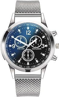 Men's watch, Fashion Luxury Elegant Watches Quartz Watch Stainless Steel Dial Casual Bracele Watch