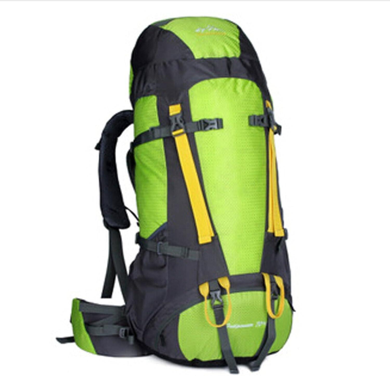 Outdoor Sport Wasserdicht Klettern Rucksack Nylon Trekking Gepck Daypack,Grün-OneGröße