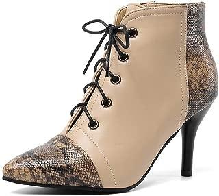 BalaMasa Womens ABS13917 Pu Boots
