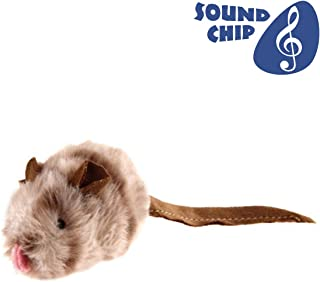 Gigwi Chirpy Mouse Sound Cat Toy Interactive Squeaking Cat Toy Melody Chaser Play N Squeak Kitten Toy, Cat Mouse Toy for Boredom