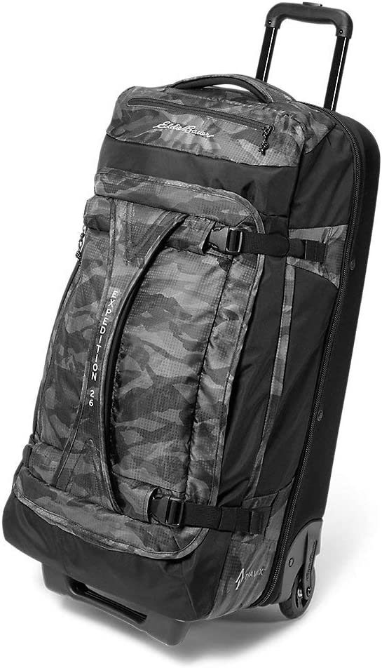 Eddie Bauer Unisex-Adult Expedition Drop-Bottom Rolling Duffel - Large