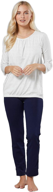 HAPPY MAMA Womens Maternity Nursing Set Breastfeeding Pyjamas Nightwear 1240