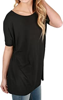 Piko Women's Famous Short Sleeve Bamboo Top Loose Fit