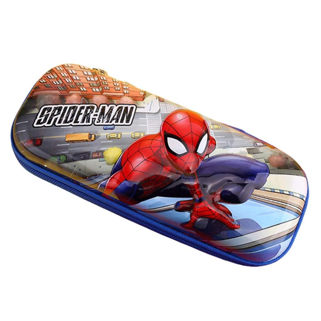 Estuche Disney Estuche for lápices Iron Man Capitán América Material Escolar for Estudiantes Spiderman Estuche for lápices Regalo for niños Estuches de Lápices (Color : Color, tamaño : C): Amazon.es: Electrónica