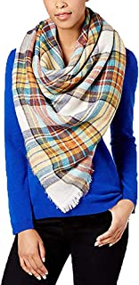 Classic Plaid Square Blanket Wrap Scarf One Size - $44 - NWT