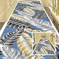 CnCnCn 入り口 玄関マット 廊下 3Dプロセス カーペット ランナー エリアラグ 滑り止めパッド 多目的 フロアマット (Color : A, Size : 0.8x5.4m)