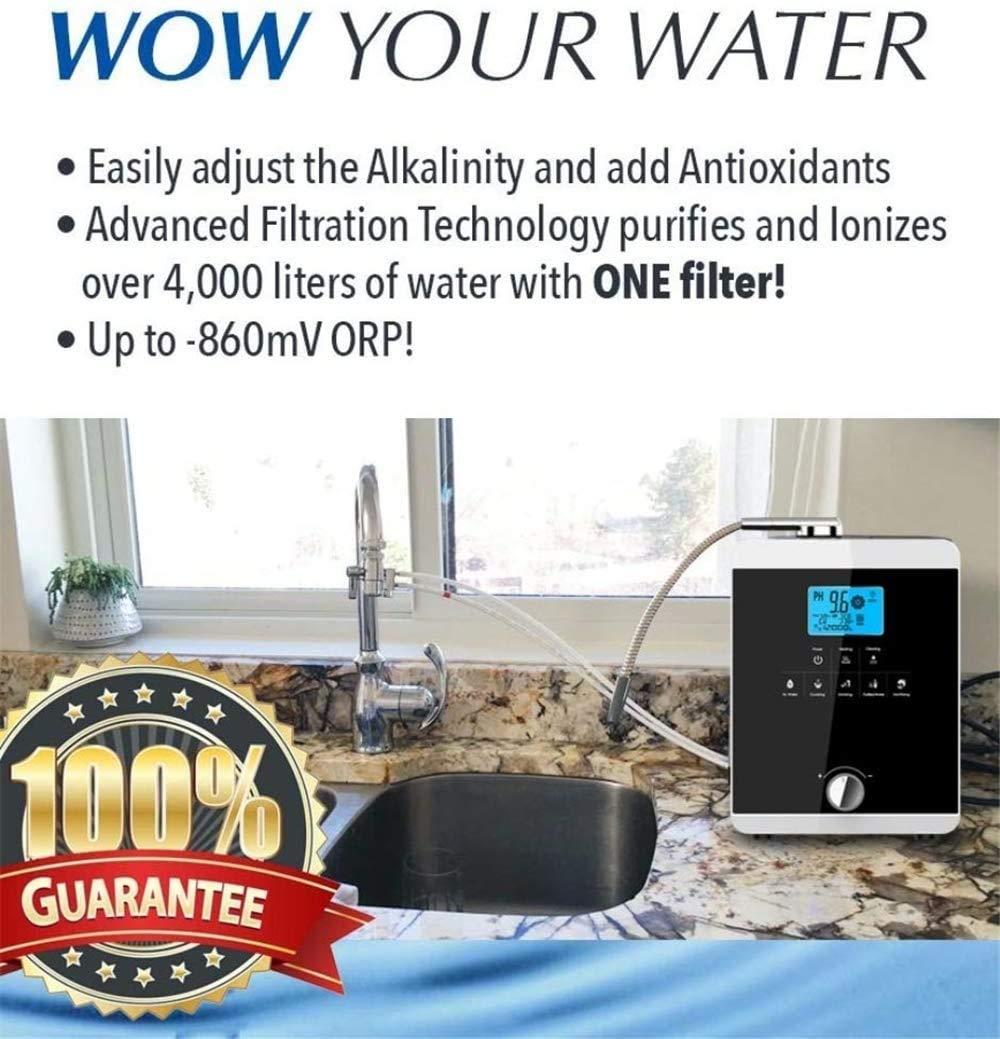 Ionizador de agua sistema de filtración de la máquina-purificador ...