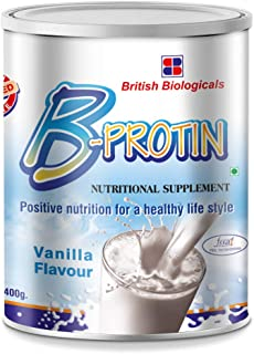 British Biologicals B-Protin   Complete Nutritional Supplement  Trans fat, Gluten, & Cholesterol free Immunity Booster   V...