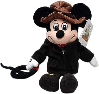 Disney Adventureland Mickey Mouse Adventurer Indiana Jones Plush Bean Bag by Disney