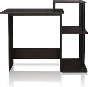 Furinno efficiente scrivania per Computer Espresso/Black