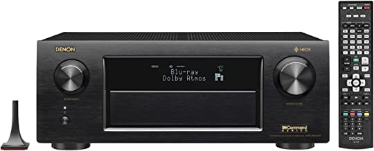 Denon AVRX6400H 11.2 Channel Full 4K Ultra HD Network AV Receiver with HEOS, Black