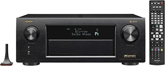 Denon AVRX6400H 11.2 Channel Full 4K Ultra HD Network AV Receiver with HEOS black, Works with Alexa (Discontinued by Manufacturer)