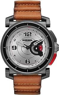 DieseI on Hybrid Analogue-Digital Grey Dial Men's Watch