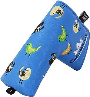 Craftsman Golf Birdie Birds Blue Driver Fairway Wood Hybrid Mallet Blade Putter Cover Headcover