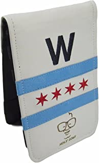 Sunfish Golf Scorecard and Yardage Book Holder Fly The W